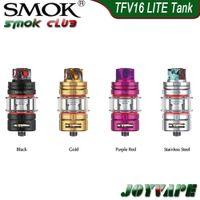 5ml SMOK TFV16 LITE Tanque w / Dual cónico Malha Bobina alimentado por nexMesh Leakproof actualizado o sistema de fluxo de ar atomizador Para G-PRIV 3 100% Original