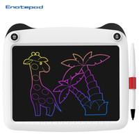 Tableta de dibujo de 9 pulgadas LCD Tablet Tablet Eyes Protege Pantalla de color Tableta digital para niños Tablero gráfico ultrafino con pluma mejorada