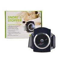rolha ronco pulseira Smart Device apnéia do sono máquina de Nova Invenção Anti-ressono Assista Pulseira Dormir Aid raio infravermelho inteligente