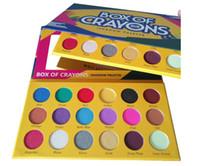 Date Boîte De Crayons Ombre À Paupières Palette Cosmétiques 18 couleurs Shimmer Mat Ombre À Paupières Palette DHL Livraison gratuite
