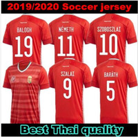 2020 2021 Ungarn Fussball Jersey Home Rot 20 21 Nationalmannschaft Dominik Szoboszlai Willi Orban Tamás Kádár Football Uniform Hemden Top Thailand
