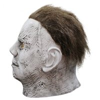 2019 Halloween Michael Myers Maske Horror Film Cosplay Adult Latex Vollvisierhelm Halloween-Party Scary Prop