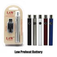 Lei Vape Pen Bateria VV Kit Pré-aqueça 1100mAh 510 Função de Toque em Tópico