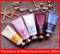 Soins de la peau Face Soins L'Histoire de Whoo Facial Nettoyant Hydratant Mousse Bricolant Ja Yang Foam Cleanser Face Cream Cree Cream 180ml