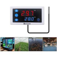 KT3003 미니 온도 컨트롤러는 -55 ~ 120 ℃ 난방 제어 스위치 릴레이 출력 온도 조절기 레귤레이터 20A 24V DC 온도 조절기 냉각