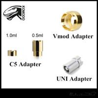 Adaptadores originales Komodo Vmod II Adaptador Yocan UNI C5 Mod Batería Anillo de conector magnético para cartuchos de hilo 510 Envío gratis