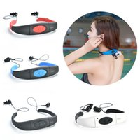 8GB Memory Waterproof MP3 Player FM Radio Swimming Surfing D...