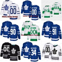 2019 Novo 91 John Tavares Tavares Toronto Maple Leafs Jersey 16 Mitch Marner 34 Auston Matthews Mens Womens Youth Kids Hockey Jerseys