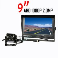 "9"" IPS HD Car Rear View Monitor + AHD 1080P 8LED IP69K ..."