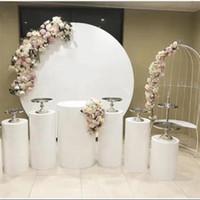 الدوائر الكبرى الحدث الحديد الوقوف لعرس عيد استحمام الطفل أقواس كبيرة الخلفيات ديكور جولة الرف للترحيب مرحلة بالون الزهور