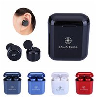 X3T Touch Control Wireless Bluetooth headphones portable min...