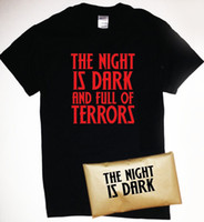 97cd91843 The Night Is Dark And Full Of Terrors T-Shirt Game of Thrones Melisandre Men  Women Unisex Fashion tshirt Free Shipping Funny Cool Top