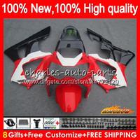 Bodys Factory Red för Honda CBR900RR CBR929 CBR900 RR 900RR 2000 2001 76NO.57 CBR 929RR 900 929 RR CC 900CC 929CC CBR929RR 00 01 FAIENINGS