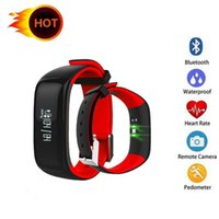 P1 Smartband Blood Pressure Monitor Smart Band Pedometer Act...