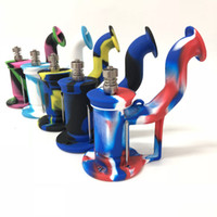 Mutil colors Silicone Water Pipes for Smoking Unbreakable Pe...