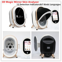 La cinquième génération Magic Mirror Intelligent Image Skin 3D Analyse machine de 20 millions de pixels 12 Indicateur de détection de la peau système de diagnostic