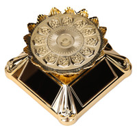 Watch Display Box Placa Solar Turn Table Rotating Display Stand Table Watch Rotator Box