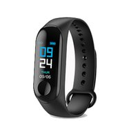 Bracelet M3X Smart Tracker Fitness Tracker Montre Intelligente IP67 Étanche Bluetooth Smart Bracelet pour Iphone Xiaomi Smartband
