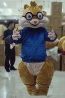 2018 Alvin et les Chipmunks chauds Souris Souris Rat Rat Mascotte Costume Mascotte Mascotte