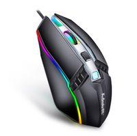 Hotsell Wired Mouse Gamer LED Light 4 Кнопка 1000DPI Оптический USB Ergonomic Pro Gamer Gaming Mouse для мышей для ноутбуков