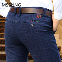 2019 New England plaid pants and dress pants men sanding mal...