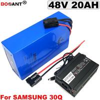 48 В 20AH Литиевая Батарея для Bafang BBSHD 1500 Вт Мотор Аккумуляторная батарея электрический велосипед 48 В Для Оригинальных Samsung 30Q 18650