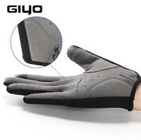 Giyo Ciclismo completa Luvas de dedo Touch Screen Anti-derrapante bicicleta Tecido melhor qualidade frete grátis