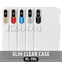 2019 New Clear Auto Focus Metal Soft TPU Transparent Full Pr...