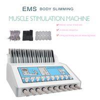 Muscle russe onde électrique de stimulation de physiothérapie perte de poids Fat enlèvement EMS Electro Muscle Stimulator minceur Machine