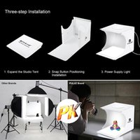 2019 top Mini Light Box Double LED Light Room Photo Studio Photography Lighting Shooting Tent Backdrop Cube Box Photo Studio