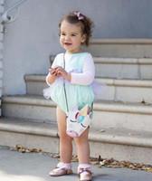 Единорог милый ребенок портмоне детские дизайнерские рюкзаки для девочек Модные детские сумки Сумка детские Сумка кожаные сумки A1705