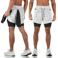 Summer Shorts Gym Fitness Course Hommes Shorts 2 1 Bodybuilding Sport Casual Male Gym Joggers Formation Jogging