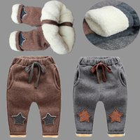good quality New Baby Pants Thick Winter Baby Child Trousers...