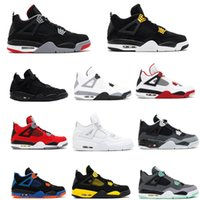 2019 4 Pure Money Basketball Shoes Mens 4s TORO BRAVO BRED R...