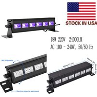 Nuovi UV Viola Wall Washer lampada luci UV ad alta potenza LED 18W ha condotto la barra nera luce Paesaggio Lavare Luce a muro AC 100 - 240V
