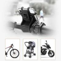 6 colores Bicicleta soporte para teléfono Smartphone universal de silicio soporte para bicicleta de la motocicleta teléfono celular titular ZZA2271 60Pcs