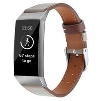 الفرقة ل Fitbit Charge 3 الفرقة استبدال الجلود ووتش سوار ل Fitbit Charge 3 كوريا Fitbit ووتش الشريط 63007
