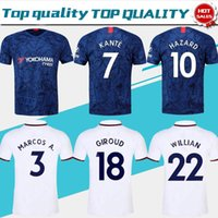 2019 #10 HAZARD Home Blue Jerseys #7 KANTE #9 HIGUAIN 19 20 ...