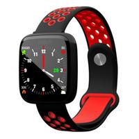 F15 Smart-Armband-Uhr-Blutdruck-Blut-Sauerstoff-Puls-Monitor Smartwatch IP68 Fitness Tracker-Bänder für IOS Android Phone Watch