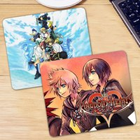 Gaming pelle Kingdom Hearts Mouse Pad PU Mousepad Rubber Mouse Mat