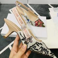 Sandalo sexy Moda tacco alto Sandali donna tacco Singel scarpe Slip-On del partito del vestito sandali Bow Sandals Vintage