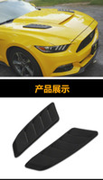 FORD MUSTANG GT350 GT500 Roush Hood için uygun sarma çıkış kapağı