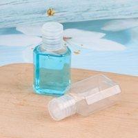 Ayaklı Cap Seyahat Makyaj Konteynerleri Doldurulabilir şişeler CCA12090 600pcs ile 30ml PET Ambalaj Şişeler Çocuklar El Temizleyici Boş Şişe
