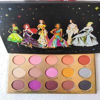 وصول العلامة التجارية ماكياج Pallete ColorPop مجموعة مصمم 15 لون عينيه لوحة Glitte ماتي وميض عينيه لوحة