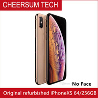 "Apple iPhone XS 5.8 ""RAM 4GB ROM 64GB / 256GB الهاتف المحمول الأصلي LTE HEXA CORE 12MP + 12MP iOS12 NFC A12"