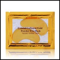 EPACK cristallo polvere dell'oro del collageno facciale della mascherina mascherina facciale di cristallo Idratante Antietà Maschera TRASPORTO VELOCE LIBERO