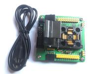 STM32-QFP48 Programmazione adattatore LQFP48 STM32F10xC STM32L15xC Yamaichi IC51-0484-806 IC Test Socket passo da 0,5 mm