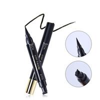 Seal Eyeliner Matte eyeliner noir imperméable eyeliner 24H durable à long Stamp Crayon Daily yeux Maquillage Livraison gratuite