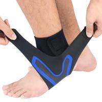 Yeni Üst Spor Ayak bileği Brace Ayak burkulma Destek Bandaj Aşil Kayış Guard Koruyucu Spor Çorap Açık Erkekler Bilek Çorap