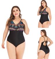 GOOD großen Frauen-Damen-Mädchen-Frauen große fette Plus gedruckt schlank sexy ein Stück flacher Winkel Rock Bademoden yakuda flexible stilvolle Bikinis eingestellt
